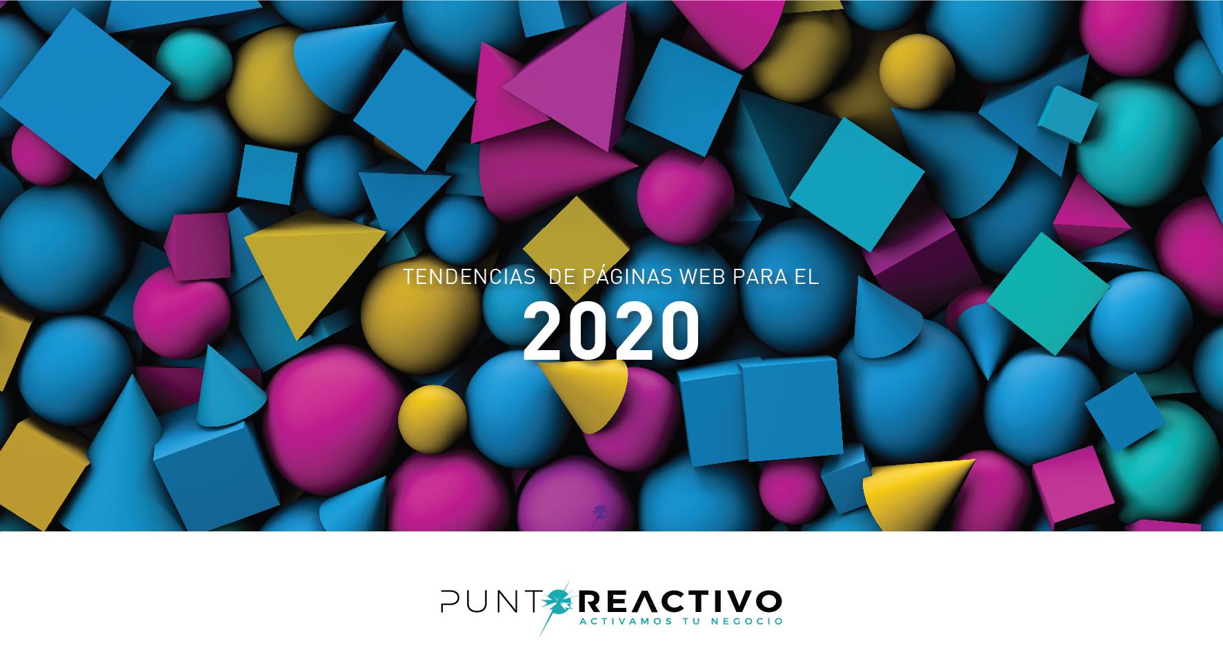 Tendencias de páginas web para el 2020